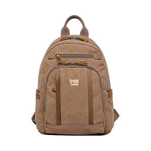 TRP0255 Troop London Classic Small Backpack (Brown)