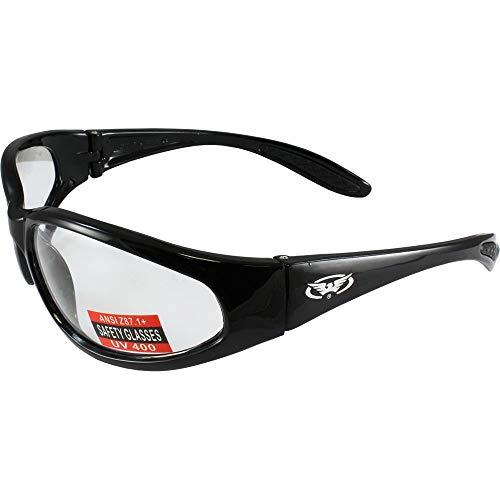 Global Vision Eyewear Hercules Lunettes de sécurité, Mixte, Claire
