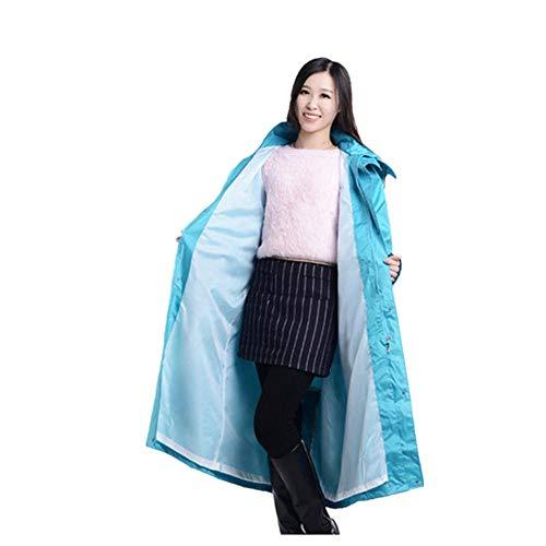 ddmlj Lange Nylon Outdoor Regenmantel PVC Poncho Erwachsene wasserdichte Regen Mäntel Zum Angeln Hauptdekoration Zubehör@M_Stil 1