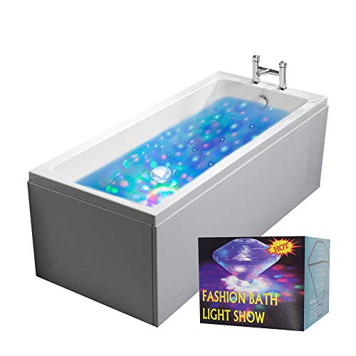 mikamax – Unterwasserlichtshow – Underwater Light show - LED - Verschiedene Lichteffekte - Waterproof