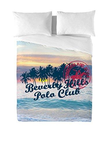Beverly Hills Polo Club Juego De Funda Nórdica Hawaii Multicolor Cama 150 (240 x 220 + 2(45 x 110 cm))