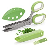 Joyoldelf Gourmet Herb Scissors Set - Master Culinary Multipurpose...