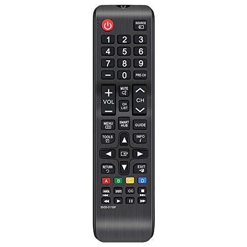 Gvirtue BN59-01199F Remote Control CompatibleReplacement for Samsung UN60J6200AFXZA UN60J620DAFXZA UN60JU6400FXZA UN32J4500AF UN32J525DAFXZA UN43JU640DF UN50J6200AF