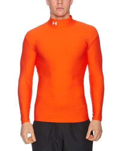 Under Armour CG Kompressions-Shirt, Herren, Größe M, grau S orange