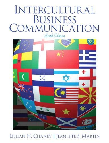 Compare Textbook Prices for Intercultural Business Communication 6 Edition ISBN 9789332536807 by Chaney, Lillian,Martin, Jeanette