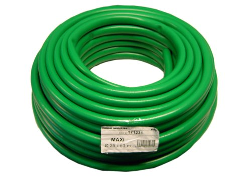 Maxi 00110846 Tuyau 25 mm 50 m Rouleau Vert