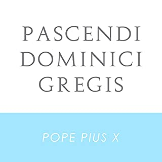 Pascendi Dominici Gregis audiobook cover art