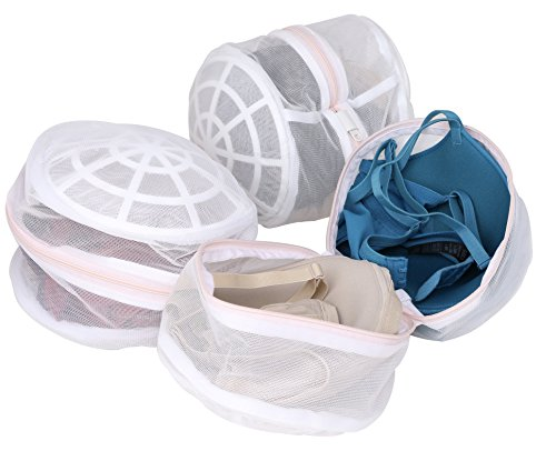 Laundry Science Premium Regular Bra Wash Bag for Bras Lingerie Delicates and Face Masks (Set of 3)