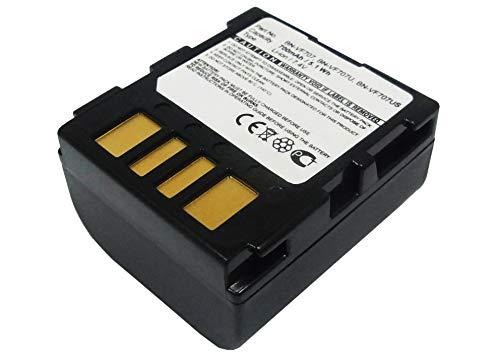 subtel® Batería Premium Compatible con JVC GR-D239 -D240 -D245 -D270 -D325 -DF540 -DF565 -DF570 GZ-MG505 -MG20 -MG21 -MG77 (700mAh) BN-VF707 bateria de Repuesto, Pila reemplazo, sustitución