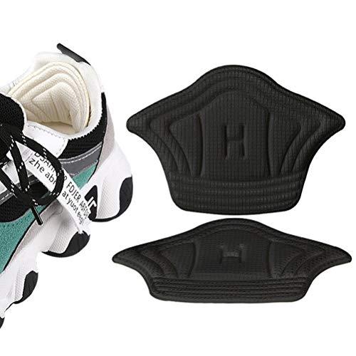 UFAVOR Fersenpolster für Turnschuhe [Fersengriffe Schuhe zu Groß] - Zusätzliches Volumen Hinzufügen Einlegesohlen Fersenschutz vor Herausrutschen Und Reiben Perfekte Einsätze für Neue