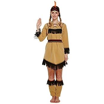 Men/'s Native American Indian Style 2 Piece Fancy Dress Costume Accessory Set