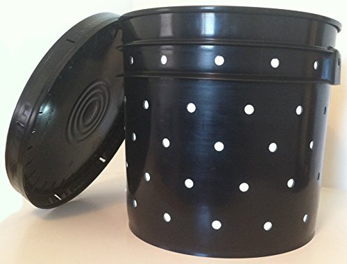 Best Bargain Biogize Compost Worm Tower - Worms Compost Directly in Your Garden – Worm Pail – Wo...