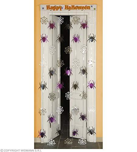 Widmann Door Curtain Spiderweb/Spiders 90 x 200 cm