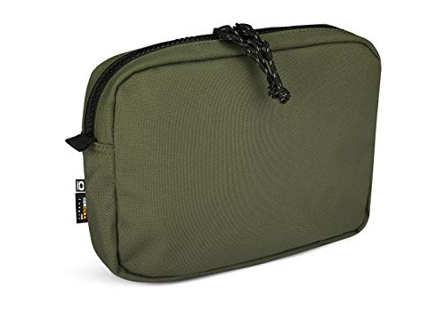 OGIO Unisex's Alpha Convoy Eco-Codura MOD Organisation Soft Pouch with Secure YKK Clips and Zipper, Olive, One