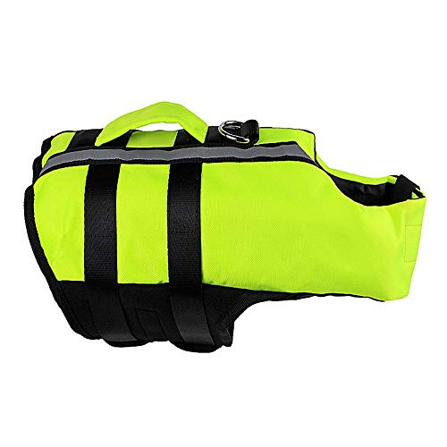 APcjerp Pet Supplies Dog Airbag Life Jacket Inflatable Folding Dog Outdoor Convenient Safety Swimsuit Hslywan (Size : Large)