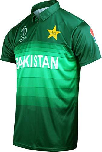 Offizielles pakistanisches ICC-Cricket-World-Cup-Trikot 2019 Gr. S, grün