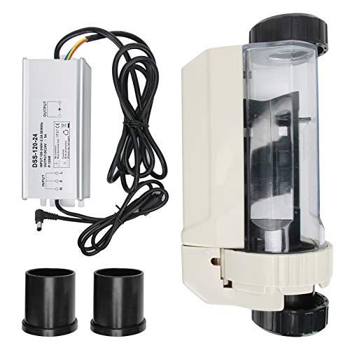 Atyhao 16 g/h Salzwasser Chlorgenerator Elektrolyse Salzchlorierer für Pool Spa 100-240 V Pool-Balancer