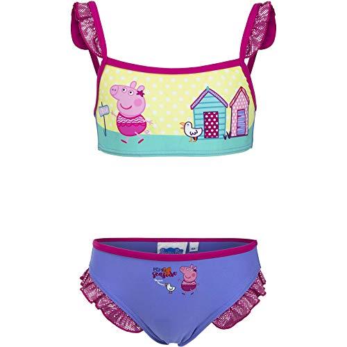 Peppa Pig - Costume Due Pezzi - Ragazza Blue 8 Anni
