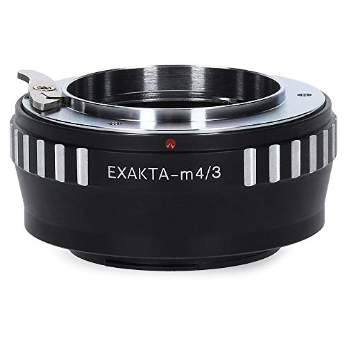 Berlin Optix Exakta-M4/3 Kamera Objektiv Adapter kompatibel mit Micro Four Thirds M4/3 MFT Ring Exakta Exa