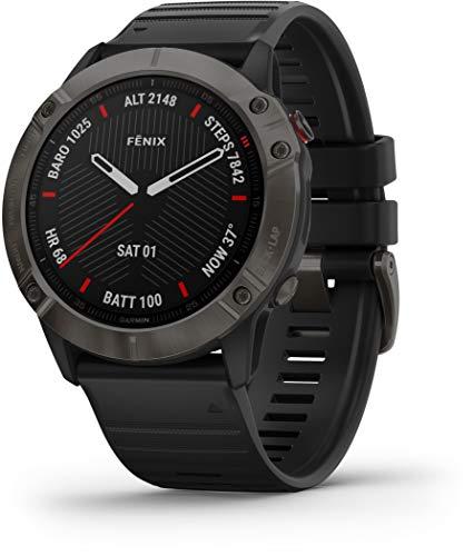 Garmin – Reloj GPS con Pulsómetro Fenix 6X Zafiro