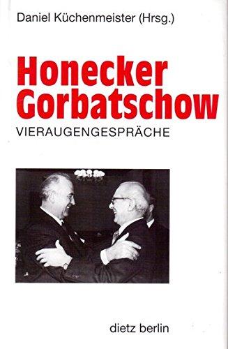 Honecker - Gorbatschow, Vieraugengespräche