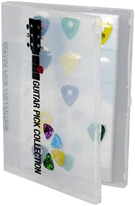 UniKeep Guitar Pick Collection Kit Holds 225 Picks Clear Case product image