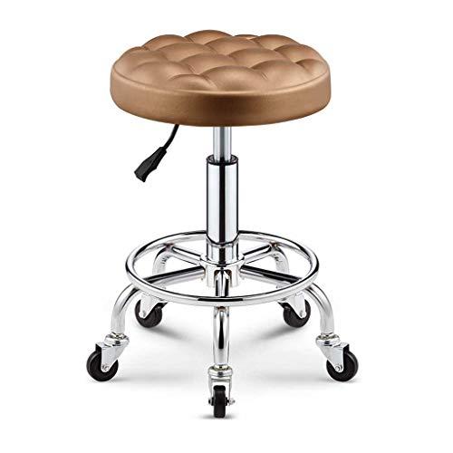 LINGZHIGAN Tabouret de bar Tabouret haut Fauteuil de chaise Fauteuil de bar Chaise pivotante Fauteuil rond (Couleur : A)