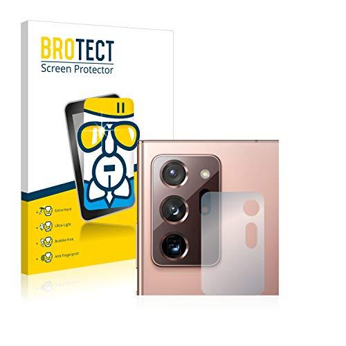 BROTECT Panzerglas Schutzfolie kompatibel mit Samsung Galaxy Note 20 Ultra / 5G (Kamera) - AirGlass, extrem Kratzfest, Anti-Fingerprint