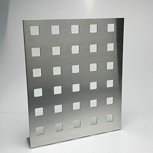 Lochblech Aluminium Al99,5 Lochblech QG20-50 Stärke 2,0mm Individueller Zuschnitt nach Maß (1000 mm x 450 mm)