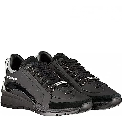 Dsquared 2 551 Zapatillas, color Negro, talla 40 2/3 EU