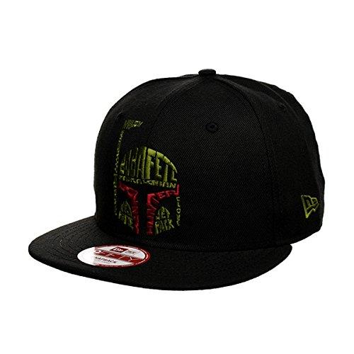 New Era Uni Cap Word Boba Fett schwarz/grün/rot, M/L