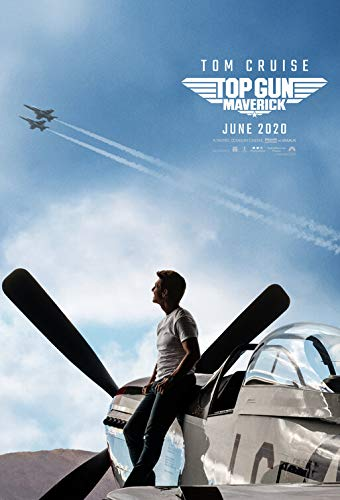 TOP GUN MAVERICK (2020) Original Authentic Movie Poster 27x40 - DS - Tom Cruise - Val Kilmer - Miles Teller - Jennifer Connelly