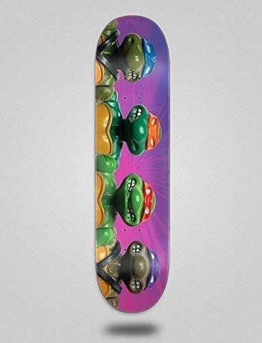 Golden Sand Santa Cruz Skateboard Skateboard Deck TMNT Figuren Everslick 8,5 x 32.2