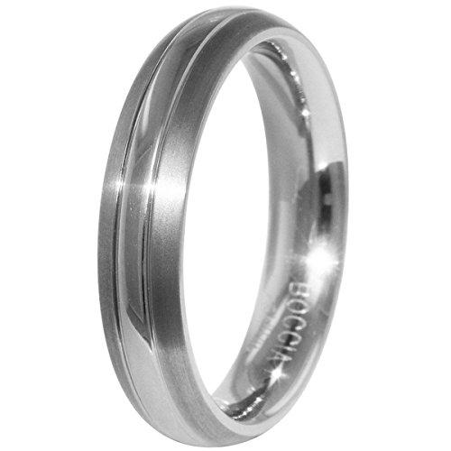 Boccia Herren-Ring Titan Gr.60 (19.1) 0131-0160