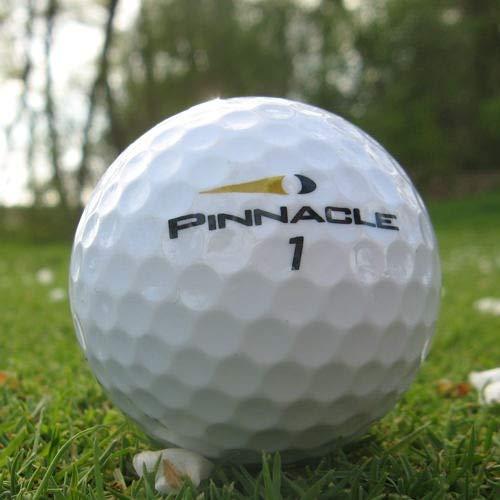 Easy Lakeballs 50 Pinnacle Lady Pelotas DE Golf RECUPERADAS/Lake Balls - Calidad AAA/AA (A/B Grade) - EN Bolsa DE Red