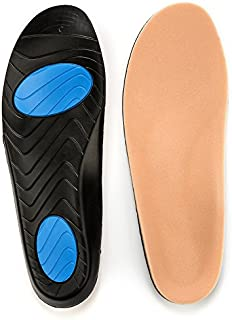 Prothotic Pressure Relief Insoles The Original Foot Pain Relief Insole for Plantar Fasciitis, Aching, Swollen, Diabetic Or Sore Arthritic Feet! -Available in (E- Wm (13-15) - Mn (11-12.5)) Sizes