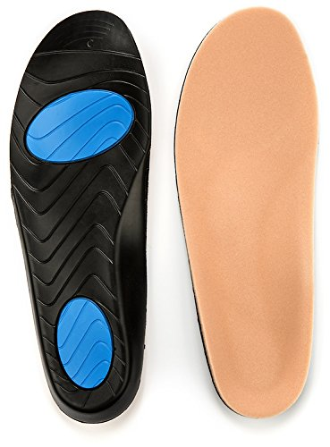Prothotic Pressure Relief Insoles - The Original Foot Pain Relief Insole for Plantar Fasciitis, Aching, Swollen, Diabetic Or Sore Arthritic Feet! - D- Wm (11-12.5) - Mn (9-10.5)