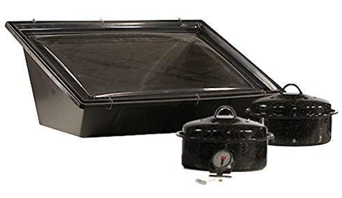 Solavore Sport Solar Oven Get Cooking! Bundle - Includes 2 GraniteWare Cooking...