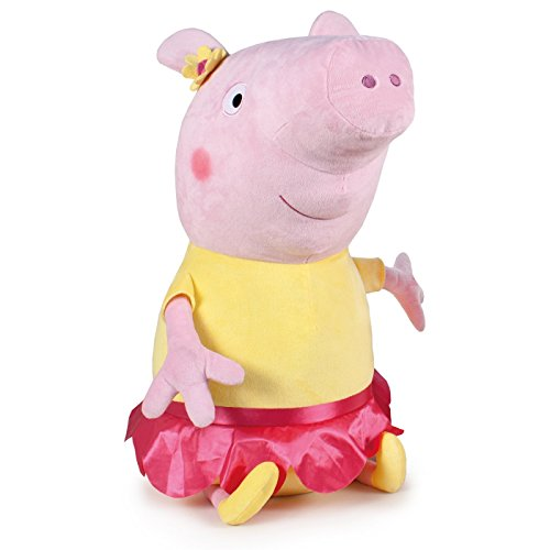 Play by Play Ousdy - Peluches personajes de Peppa Pig 760015670 (PEPPA BAILARINA)