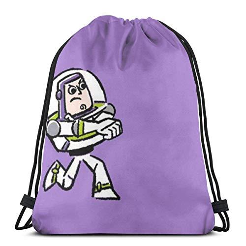 Classic Drawstring Bag-Buzz Lightyear Gym Backpack Shoulder Bags Sport Storage Bag for Man Women