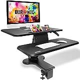 Duronic DM05D10 Postazione da Lavoro per Computer con Ampia Piattaforma 80cm scrivania Ufficio per...