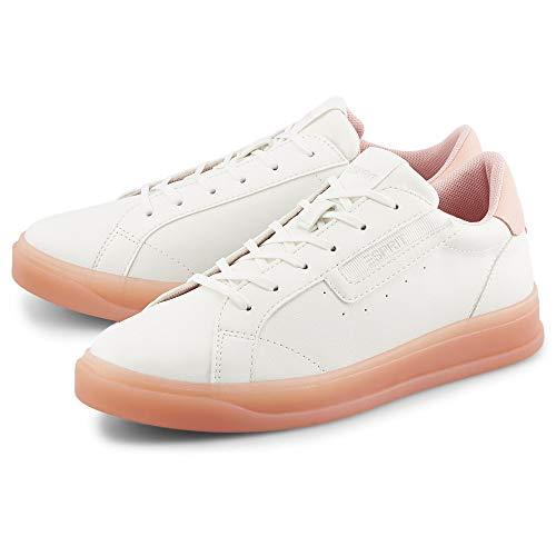 ESPRIT Damen Sneaker Michelle vegan Weiß Synthetik 40