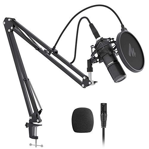 XLR Condenser Microphone Kit MAONO AU-PM320S...