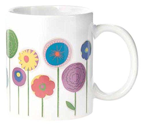 Kikkerland Blumen Morph Tasse, grün, Set 2