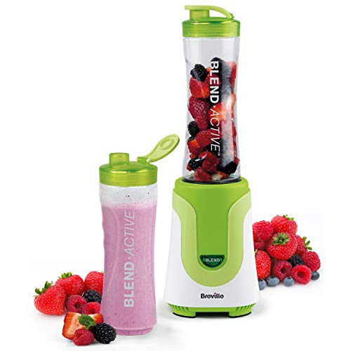Breville Blend Active Personal Blender & Smoothie Maker with 2 Portable...