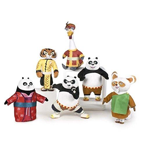 Peluche Kung Fu Panda 27 cm, Morbido, Vari Personaggi