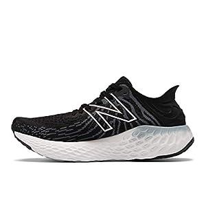 New Balance Women's Fresh Foam 1080 V11 Running Shoe, Black/Thunder, 9.5