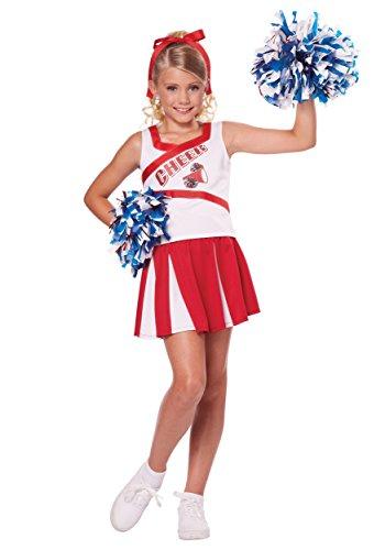 California Costumes High School Cheerleader Costume, Large