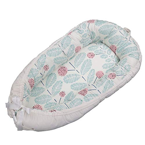 Purchase Baby Lounger,Reversible Newborn Co Sleeping Bassinet for Bed - Breathable Comfortable Remov...