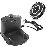 globalqi Cargador de Base de Carga Integrado con Cable de alimentación para iRobot Roomba 500 600 700 800 900 Serie, Authentic Replacement Parts,
